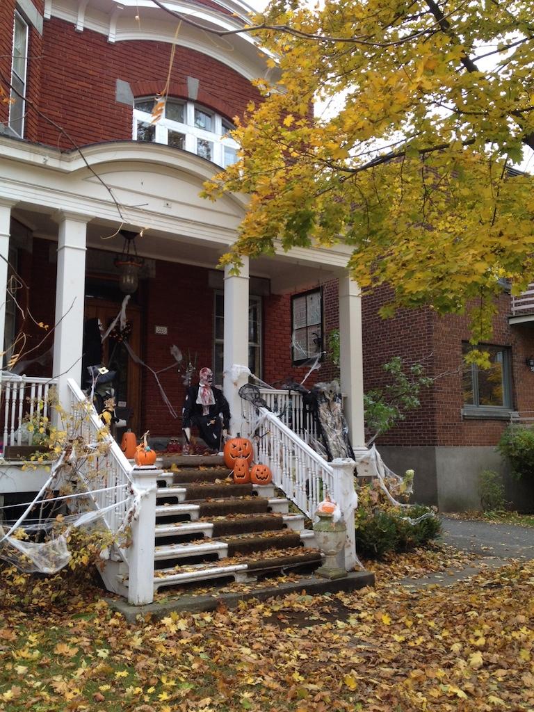 Maison halloween Montréal