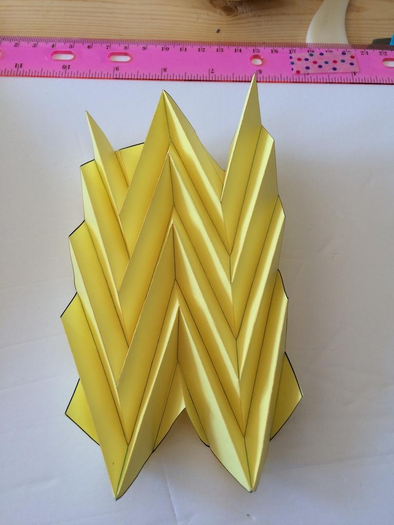 pliage origami architectural