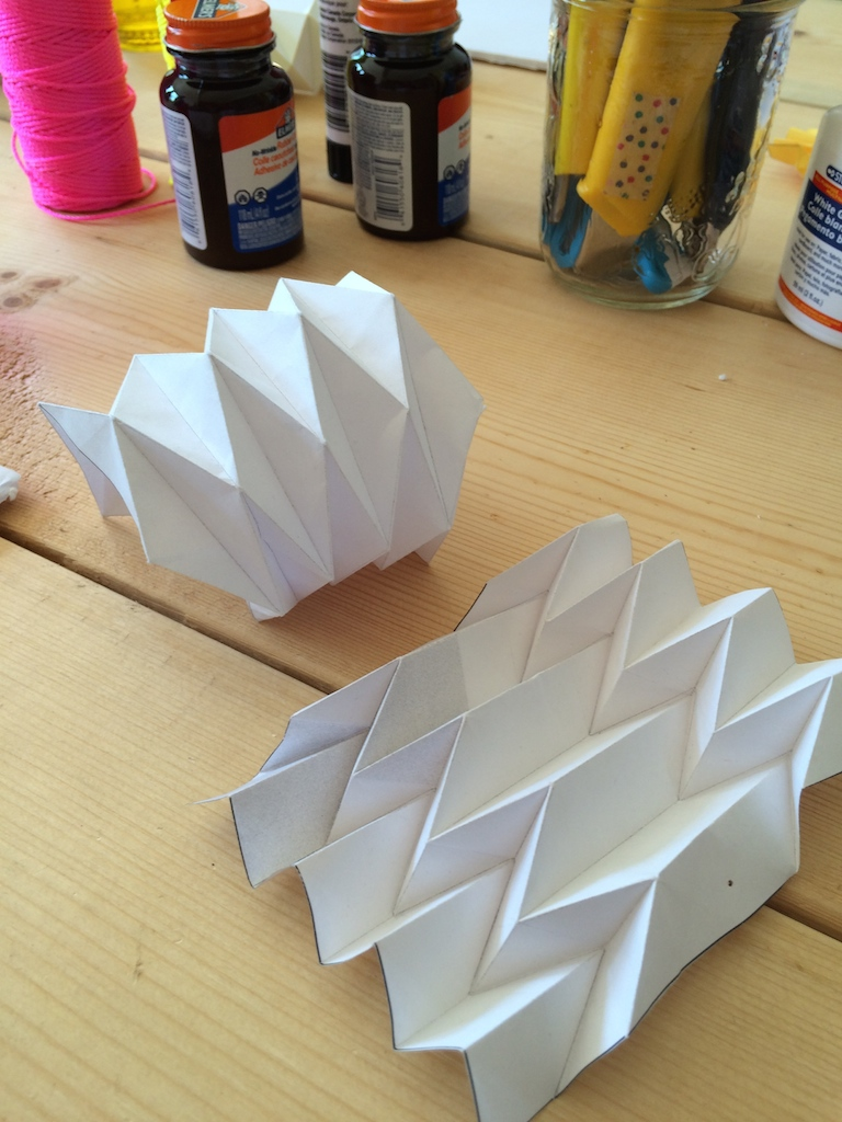 techniques de pliage en origami