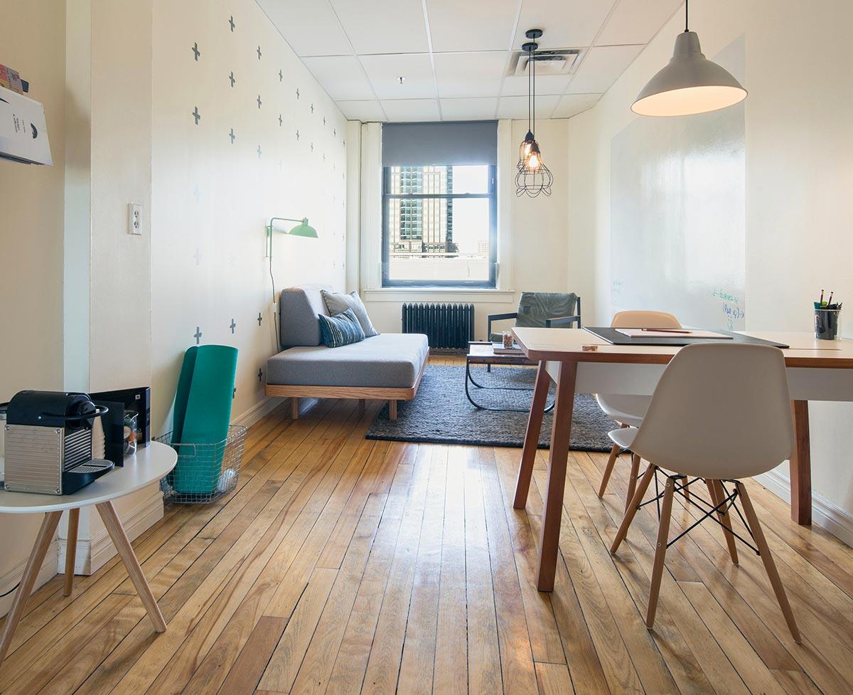 Breather beaux espaces louer pour travailler en paix for Location appartement montreal