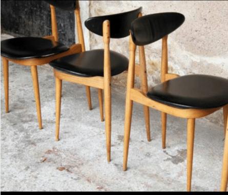 Les Vieilles Choses - 3 chaises pour 90 Euros