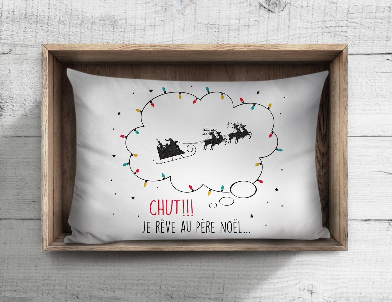 Oreiller père Noël