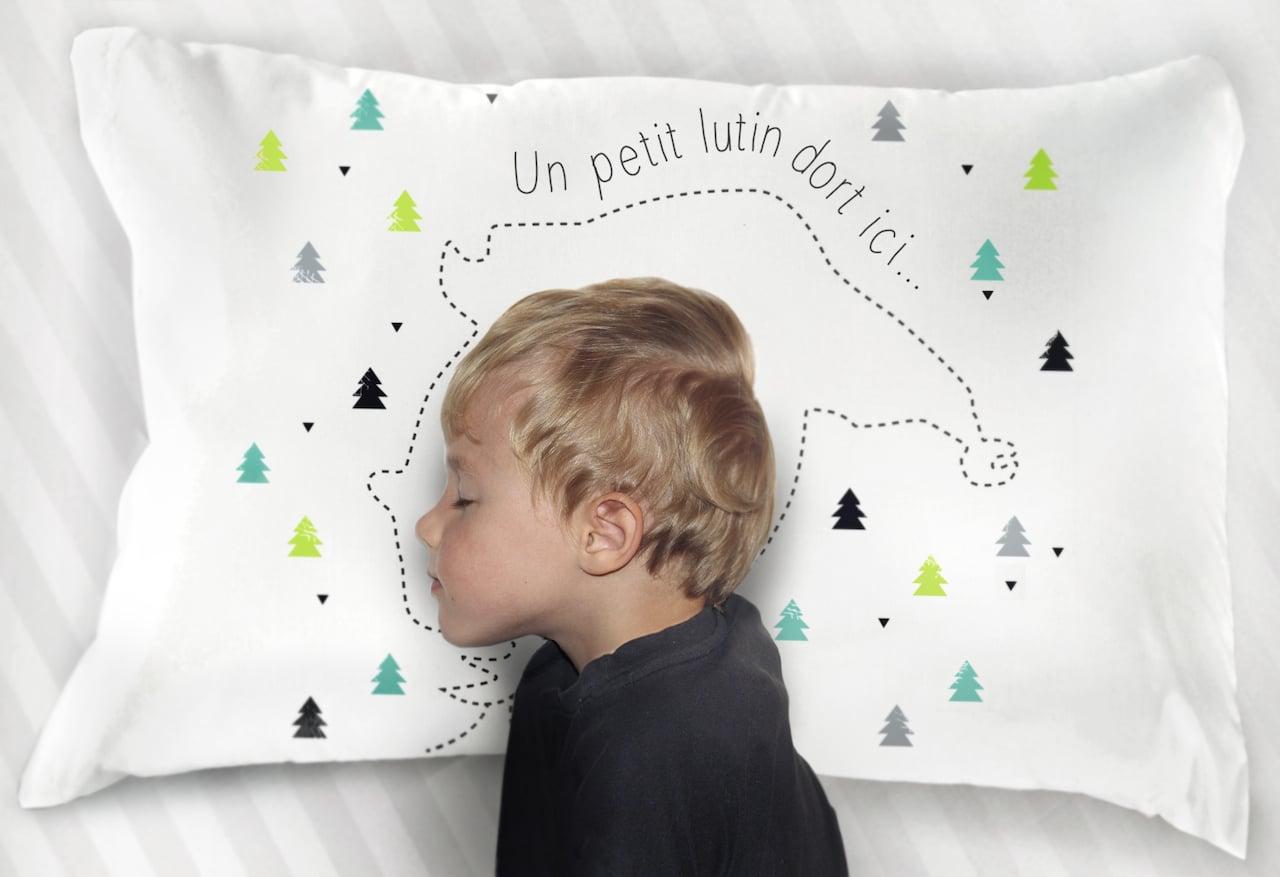 Taie d'oreiller Noël