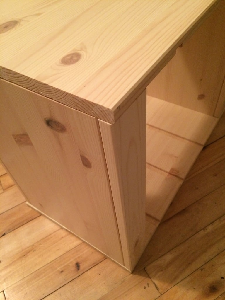 Simple trofast ikea hack with table roulante ikea - Table a langer roulante ...
