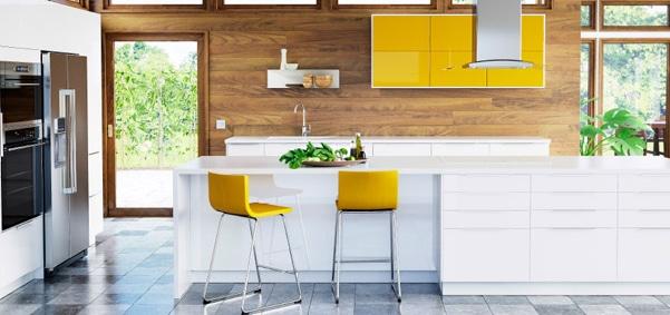 cuisine IKEA jaune