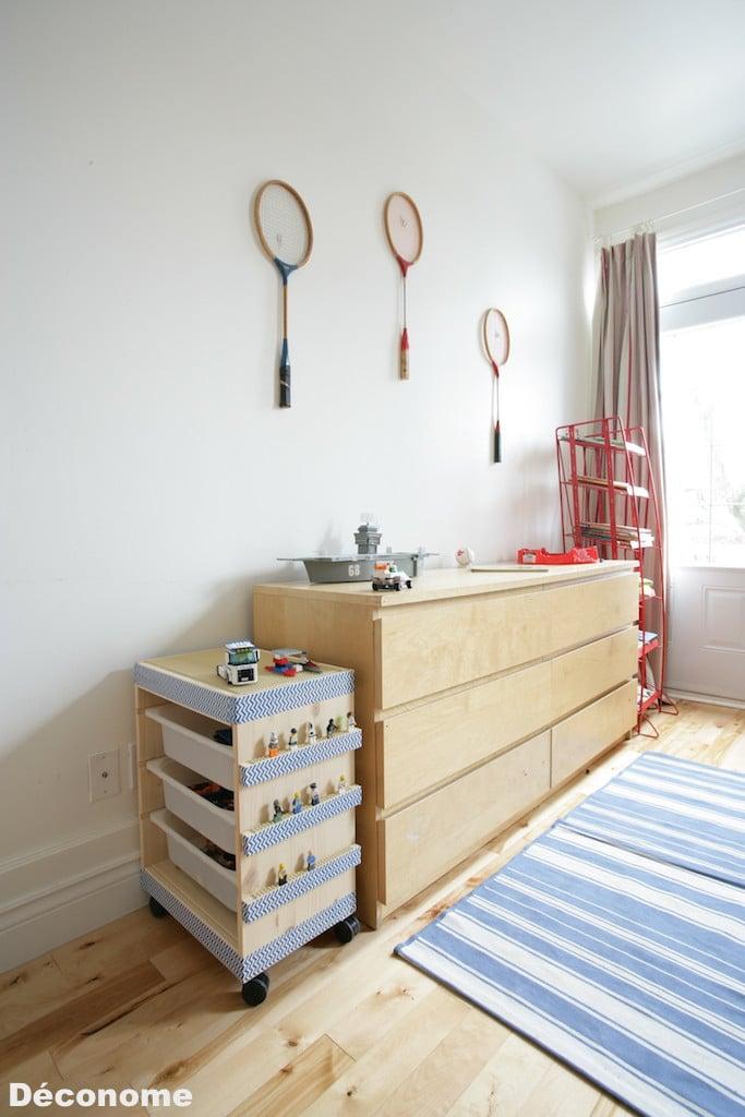 Ikea cimaise le rangement mural comment organiser bien la - Table a roulettes ikea ...