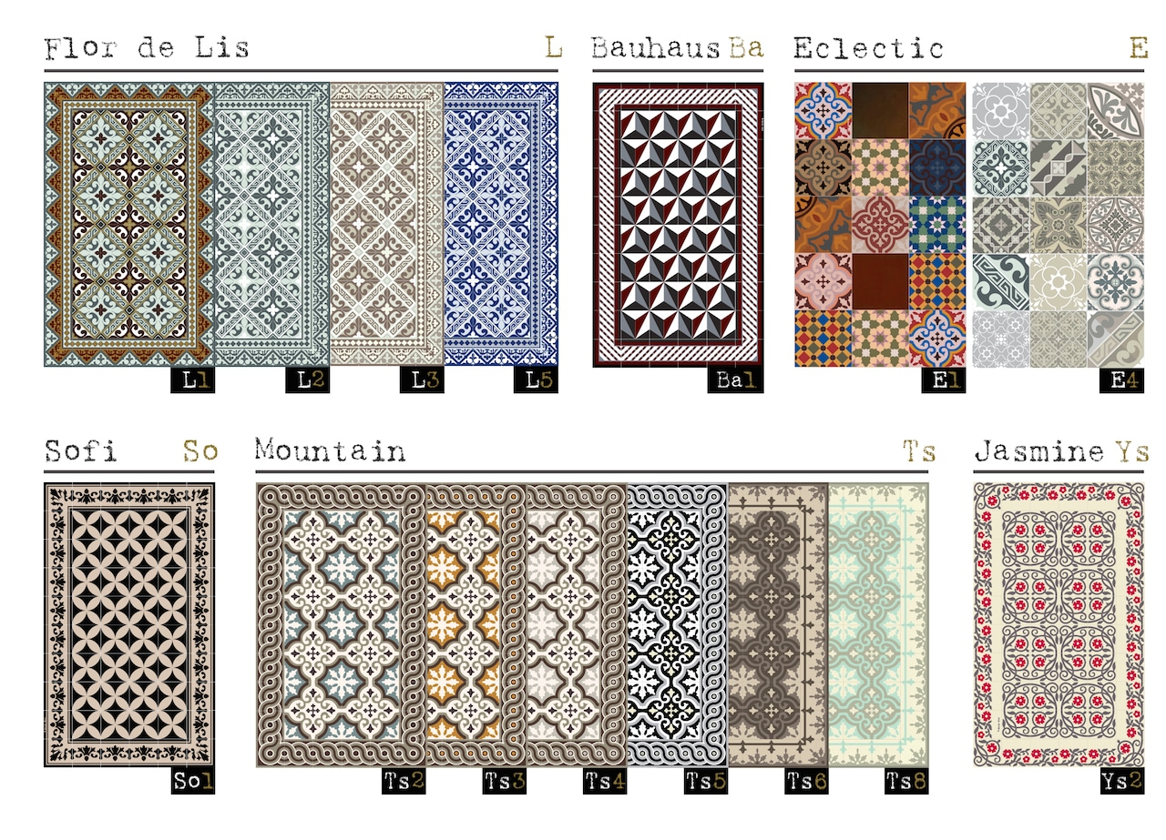 Mes 15 plus belles d couvertes d co de l 39 ann e 2015 d conome for Tapis vinyl carreaux ciment