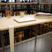 Le bureau de Sophie, fabriqué en quatre tours de vis