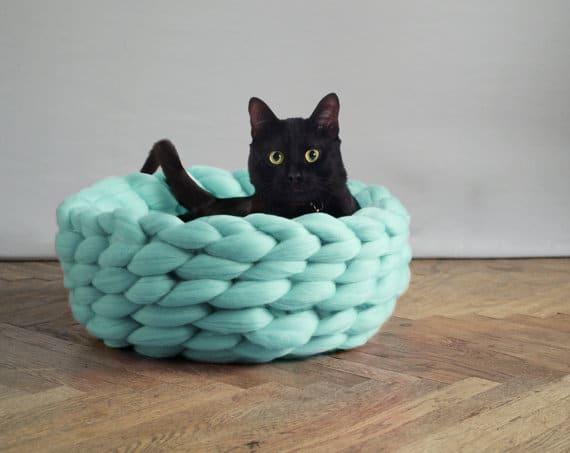 les accessoires chunky knit ou en tricot xxl d conome. Black Bedroom Furniture Sets. Home Design Ideas