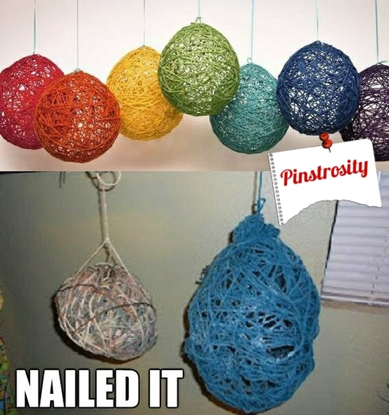 Pinstrosity Yarn Balloon Fail