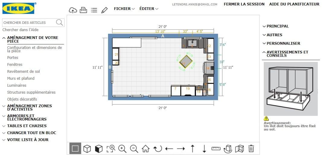 Astuce utilisation planificateur IKEA