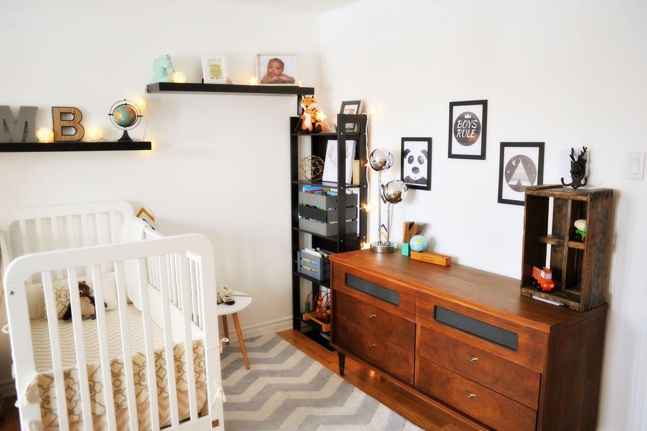 Commode vintage chambre de bébé