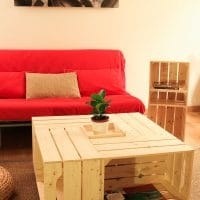 On a testé: le kit de table basse avec caisses en bois de Simply a Box