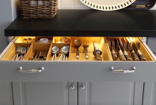 Planifier sa cuisine ikea d conome - Rangement tiroir cuisine ikea ...