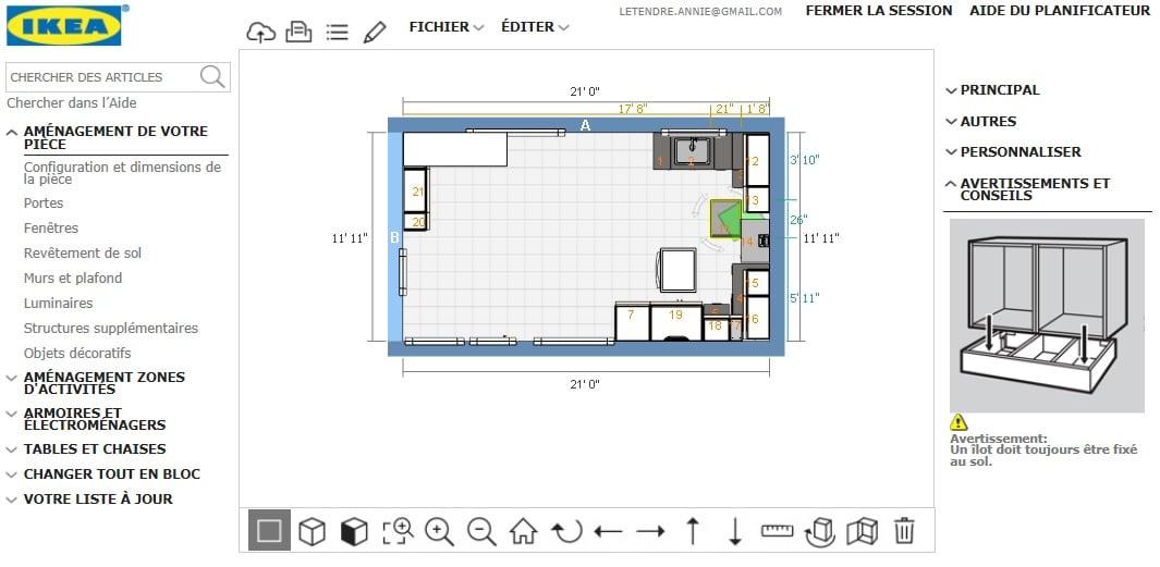 Utiliser le planificateur IKEA