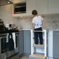 Fabriquer un tabouret de cuisine pour enfant