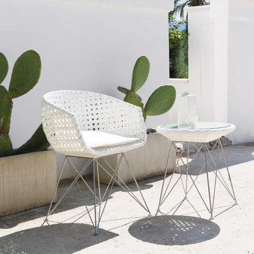 set de patio style scandinave
