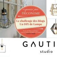 Le challenge des blogs: un DIY de lampe