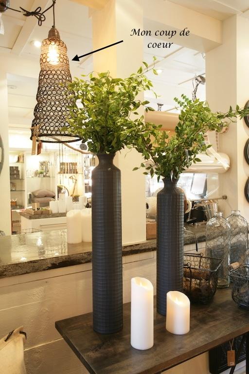 luminaire en mailles boutique M longueuil