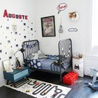La chambre d'Auguste, super-héro !