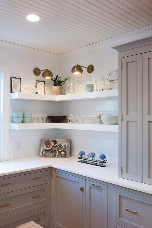 Idee Etagere Cuisine les meilleures idées d'étagères d'angle - déconome