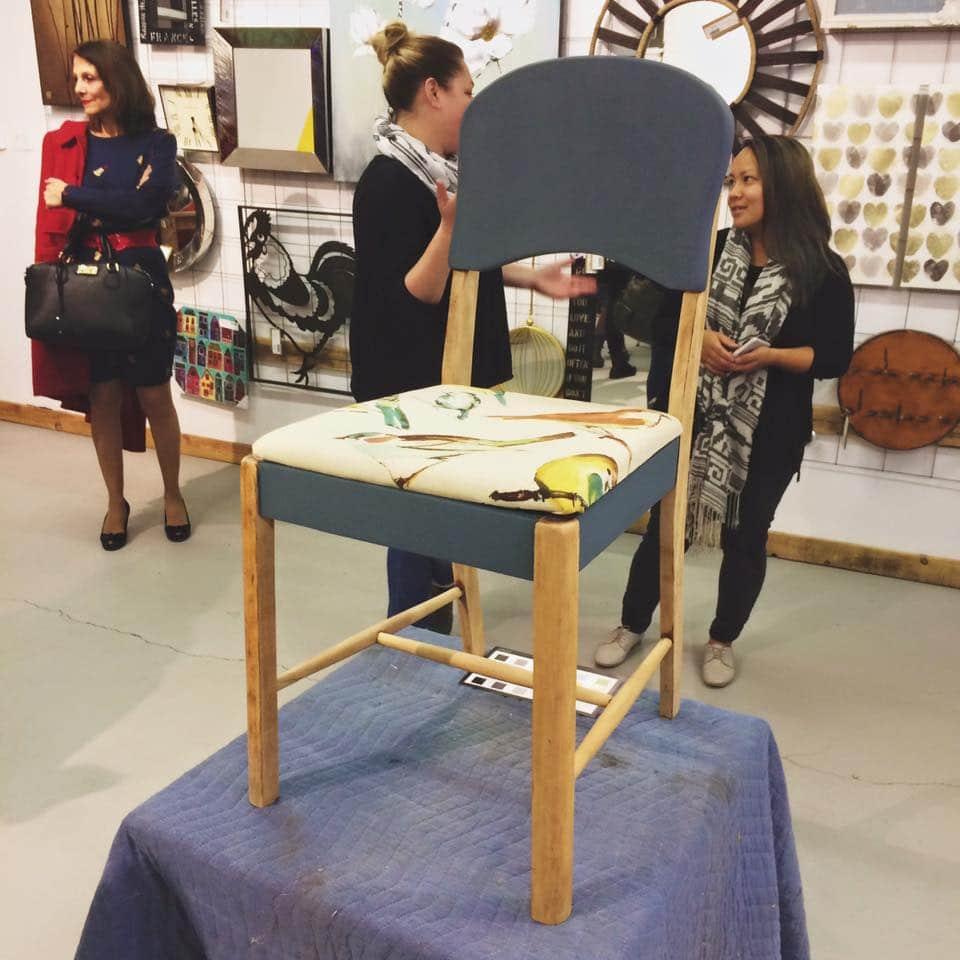 DIY chaise rembourrée