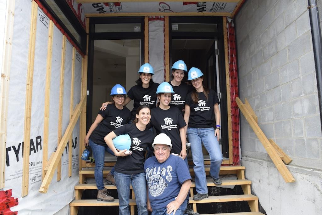 les bâtisseuses habitat pour l'humanité Québec équipe Déconome