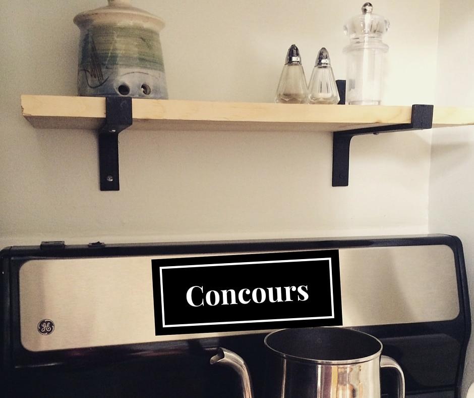 Concours équerre fonte décorative Déconome Quincaillerie du Vieux Québec