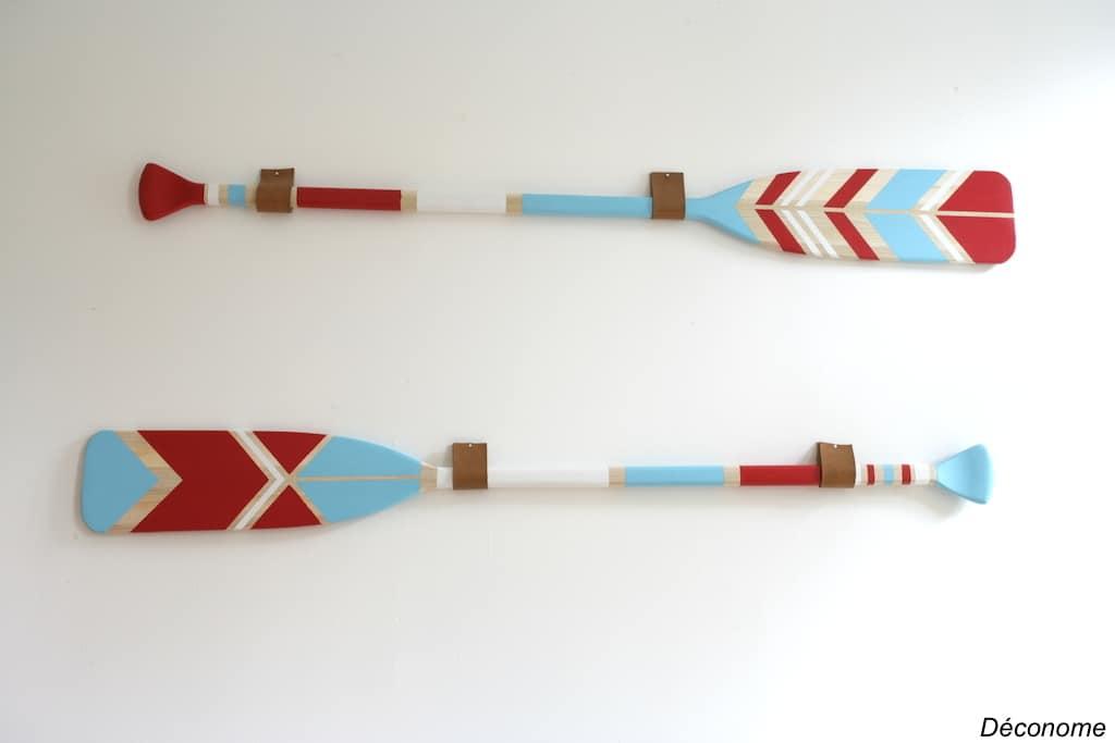DIY CIL rames peintes
