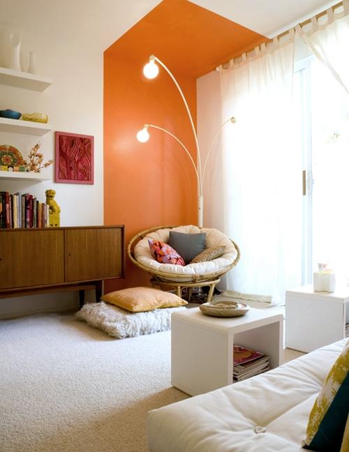 Peindre en blocs de couleurs d conome for Peindre des murs