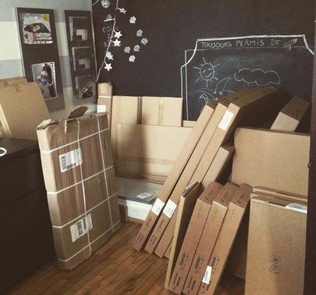livraison cuisine IKEA