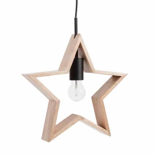 Maisons du Monde - suspension étoile - 39.99 Euros