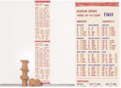 Les Esthètes - Papier peint orthographe - 80 Euros