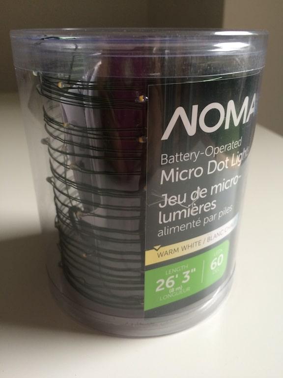 cordon lumineux LED nano micro guirlande