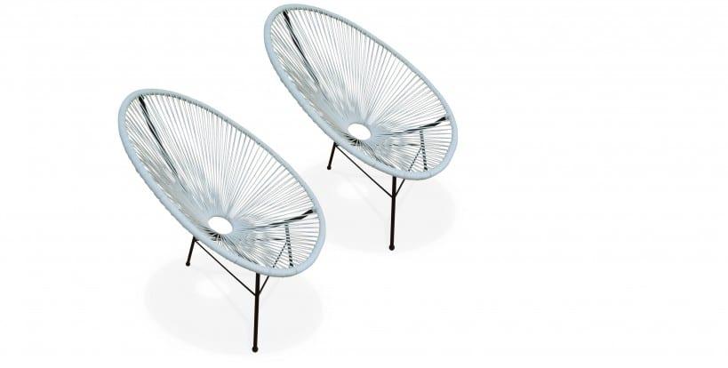 Alice's Garden - 2 fauteuils Accapulco - 119 Euros