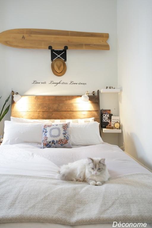 Une chambre coucher de style californien d conome for Ikea cree sa chambre en 3d