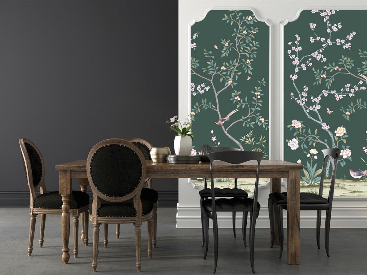 Bon plan le papier peint adh sif repositionnable d conome - Quel papier peint pour salon ...