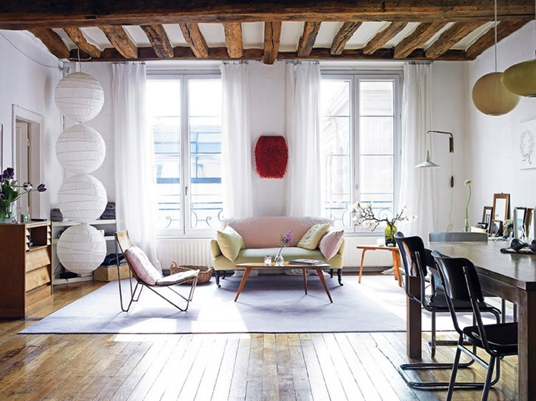 Comment am nager un salon aire ouverte d conome for Le vide interieur
