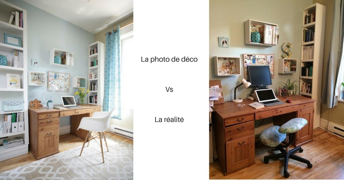 mon bureau avant après