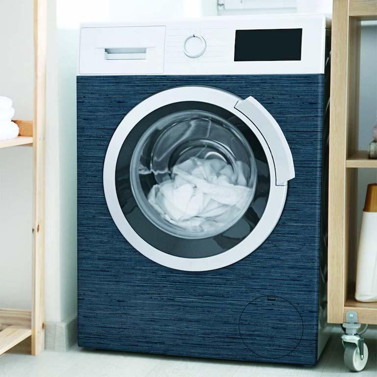 papier peint sur machine à laver