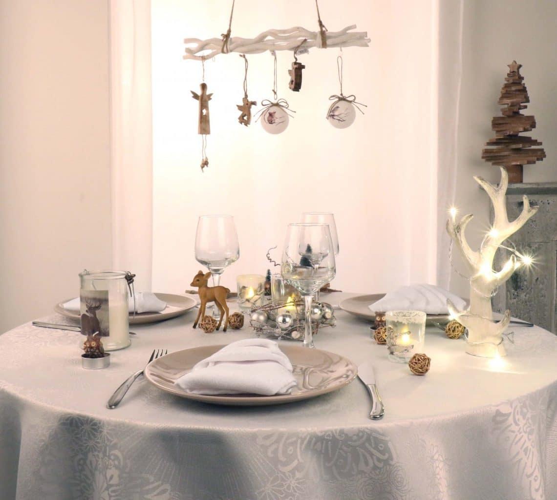Astuces déco pour une table de Noël réussie