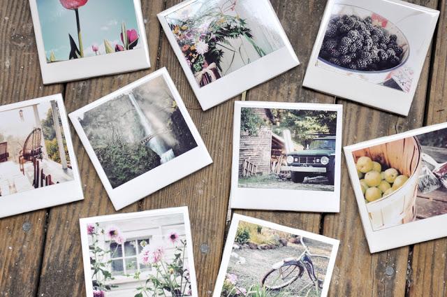fabriquer des sous-plats de type polaroid avec de la céramique et des photos