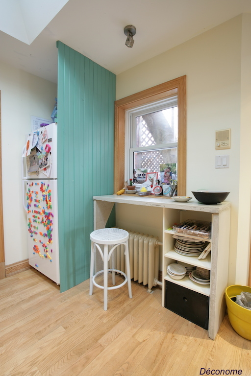 cacher frigo dans la cuisine / how to hide the fridge in the kitchen