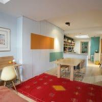 Visite d'un appartement bohème et coloré