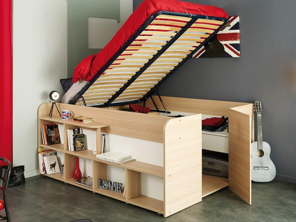 lit avec sommier relevable