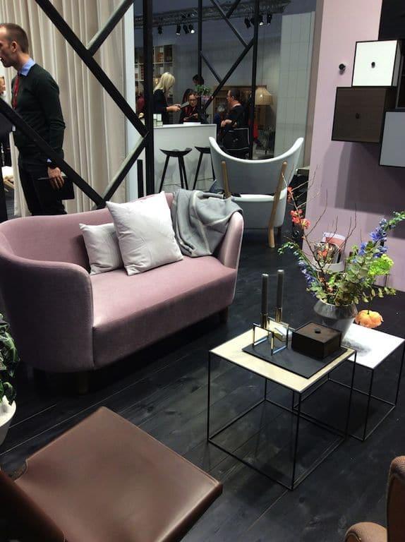 Canapé rose By Lassen Maison & Objet 2017