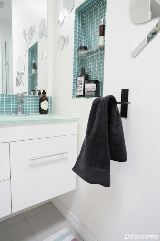 porte serviette rond / towel ring