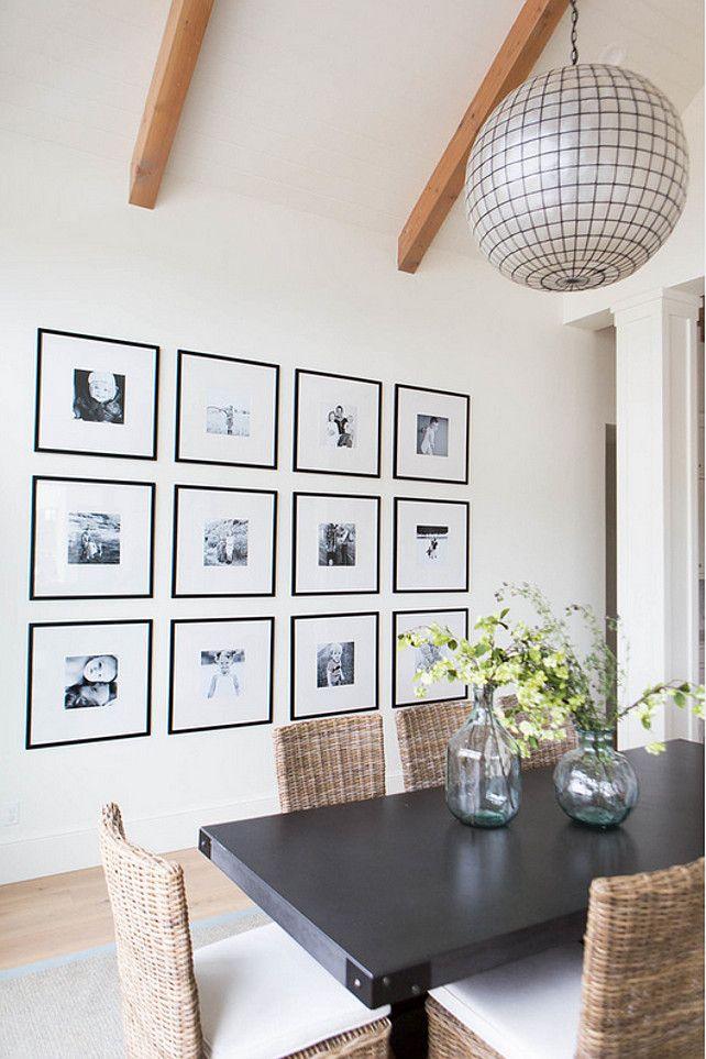 comment disposer des cadres dans un couloir un salon arty. Black Bedroom Furniture Sets. Home Design Ideas