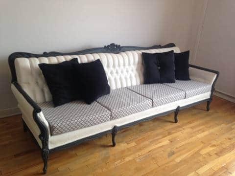 peindre un sofa avec de la peinture chalk paint / How to paint a sofa with Annie Sloan Chalk paint