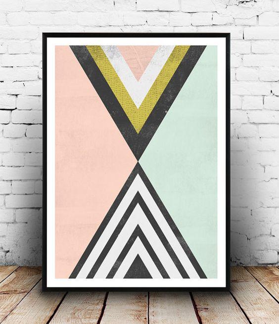 poster geometrique